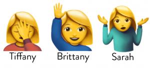 Tiffany, Brittany and Sarah