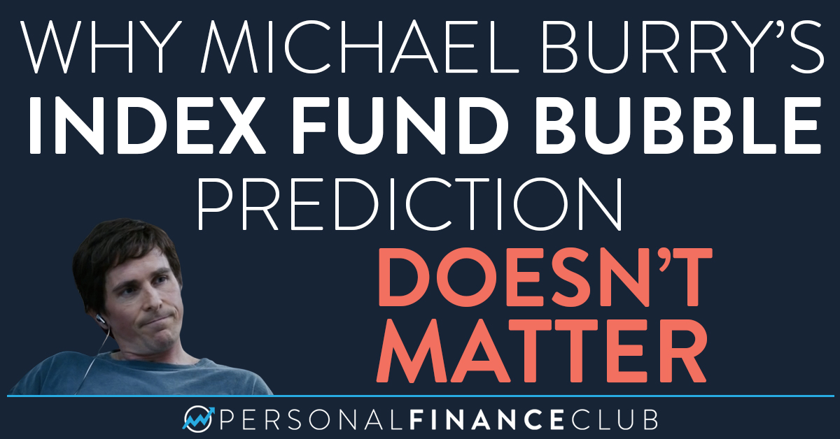 "Why Michael Burry's ""index fund bubble"" prediction doesn't matter"