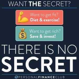 The secret to health and wealth