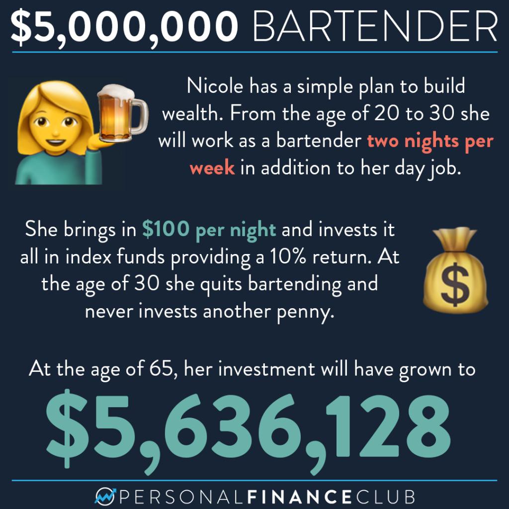 The $5 million bartender