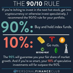 The 90/10 rule of investing