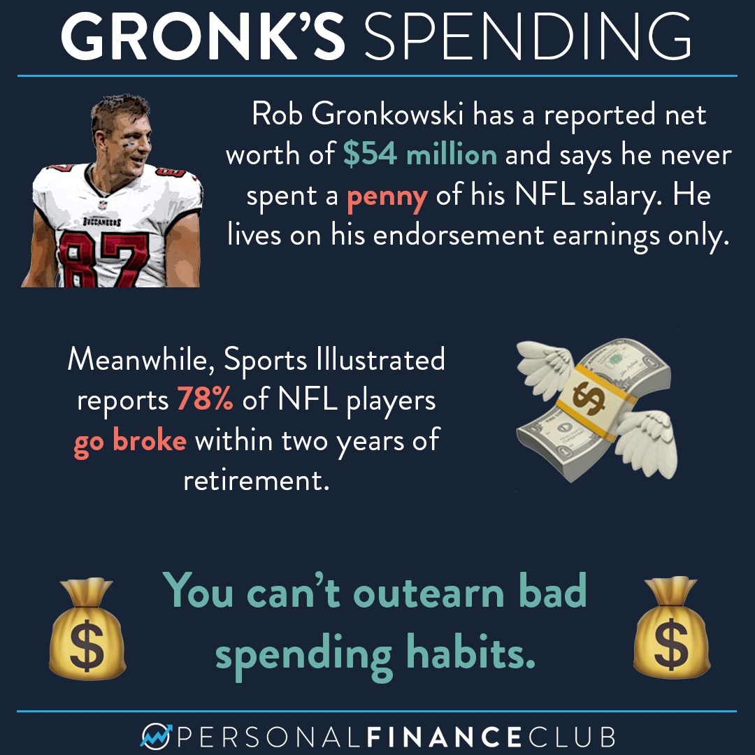 Why do retired NFL players go broke?