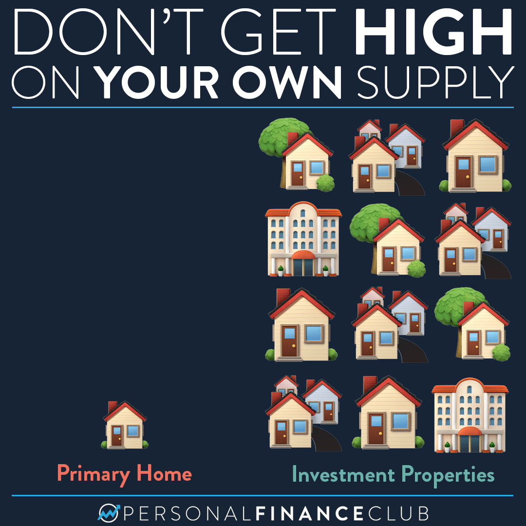 Don't get high on your own supply (Real estate edition)