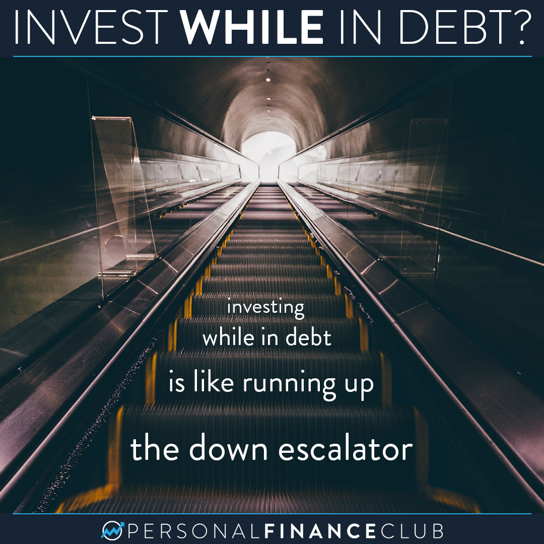 Should I invest while in debt?