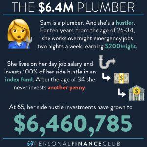 Get rich as a plumber