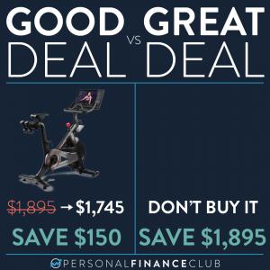Peloton Bike Good Deal
