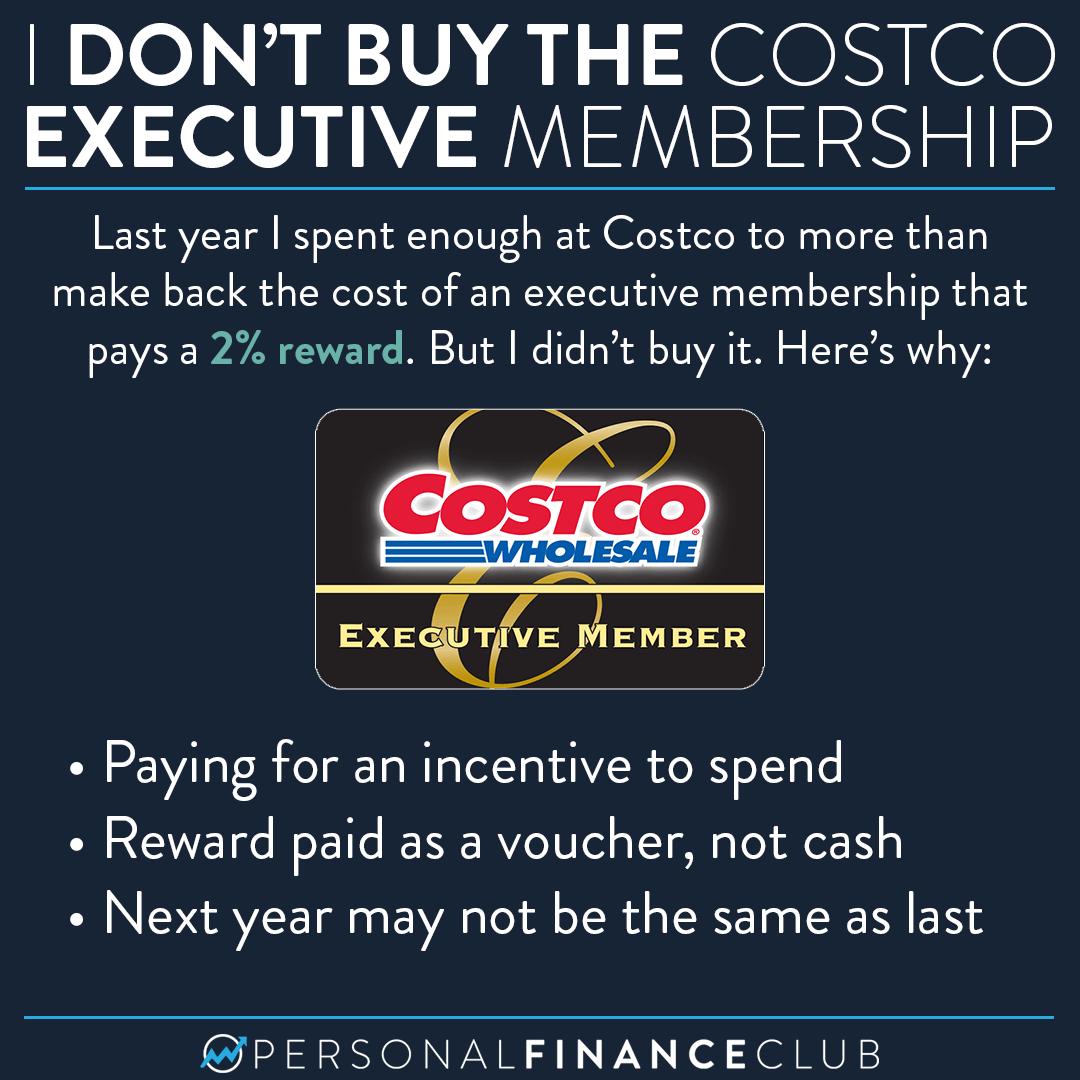 Costco executive membership